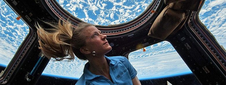 åksjuka astronaut